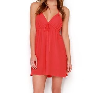 Lulu's Dresses - Sangria Red Dress